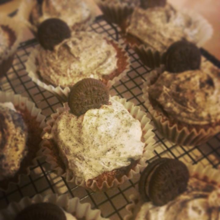 Birthday and Oreo Cupcakes