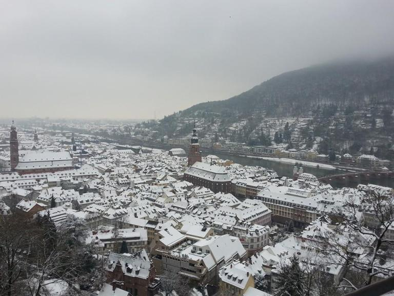 Winter in Heidelberg