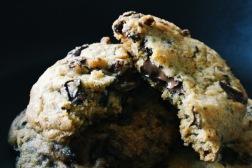 Chocolate and Raisin Cookies