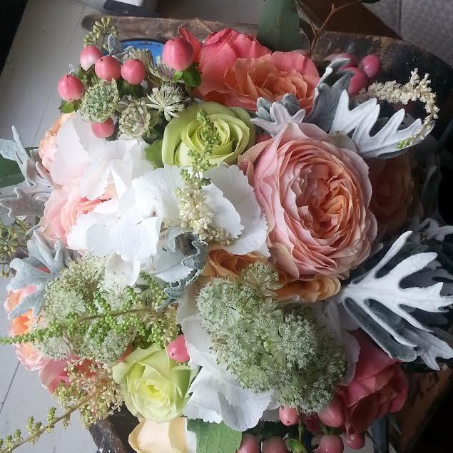 My wedding flowers
